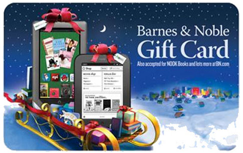 free Barnes & Noble gift card