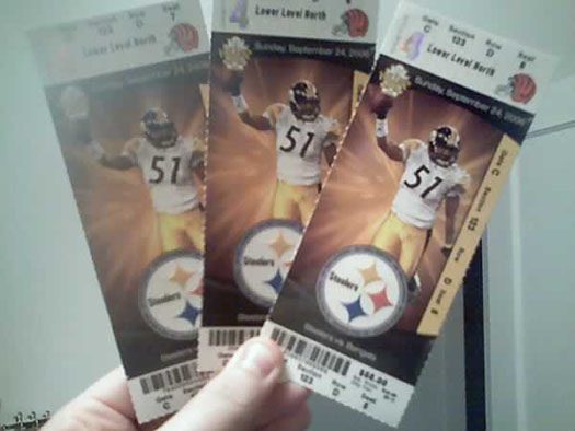 Free NFL Football Tickets