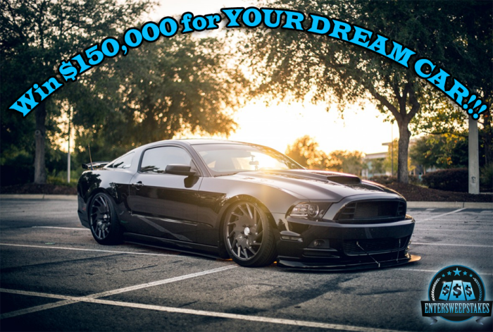 Win your dream car!!!